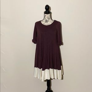 ❤️Phillip Lim Dress Plum and Cream Size XS